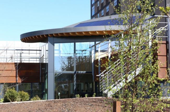 Онкологический центр Мэгги больницы Фримен. Фото с сайта worldarchitecturenews.com