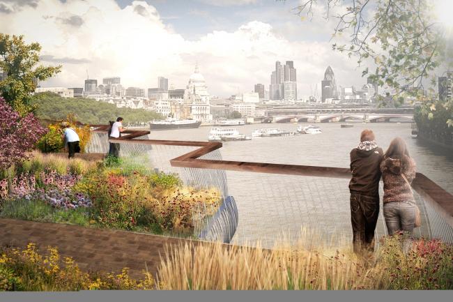 «Садовый мост». Предоставлено Heatherwick Studio