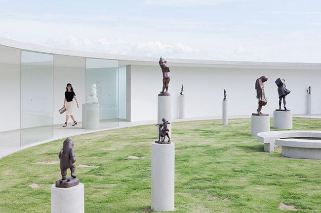 Музей матери и ребенка скульптора Кена Иваты © Iwan Baan