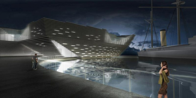 Филиал Музея Виктории и Альберта в Данди. Проект 2013 © V&A at Dundee