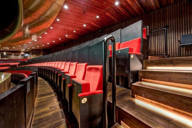 Музыкальный театр в Линце. Фото © Dirk schoenmaker