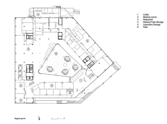 Комплекс Mirai House. Предоставлено UNStudio