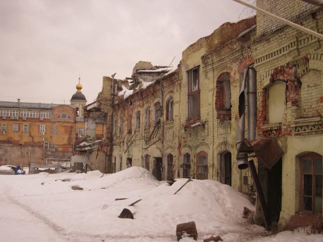 Фабрика Григорьева. Существующее положение. фотография предоставлена «Студией Уткина»