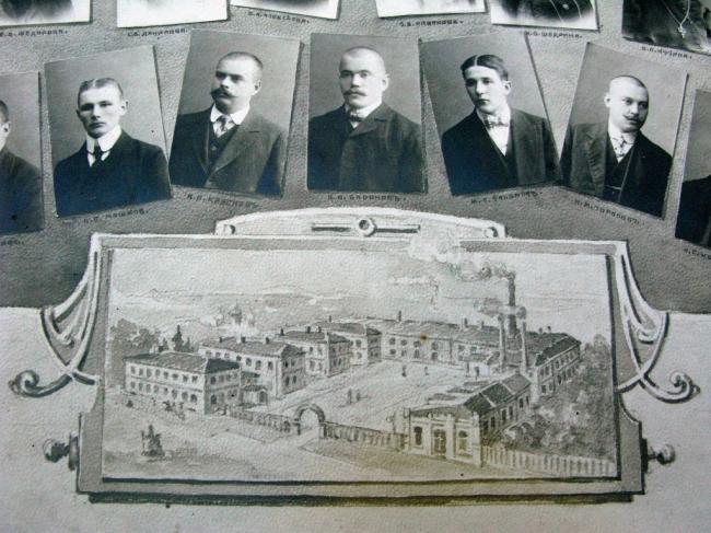 Историческая фотография Кадашевской слободы. Фотография предоставлена «Студией Уткина»
