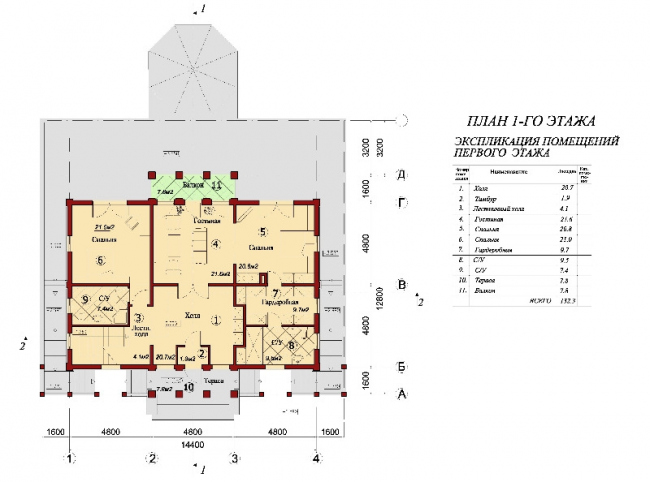 План первого этажа. © АСБ Карлсон & К