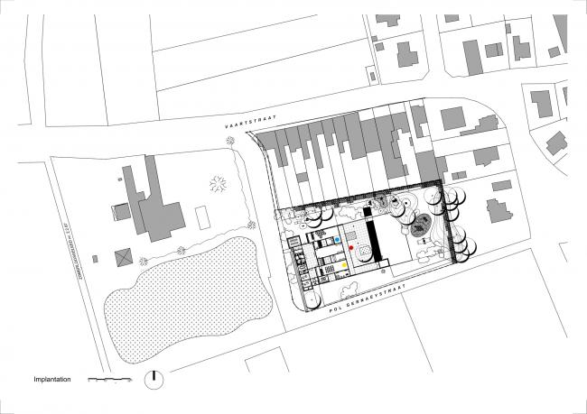 Центр продленного дня для школьников © Buro II & Archi+I