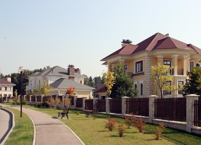 КП «Павлово», улица поселка.