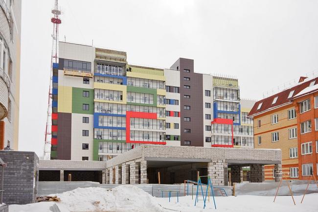 Жилой комплекс «Дымка» © Архитектурная мастерская Константина Павлова