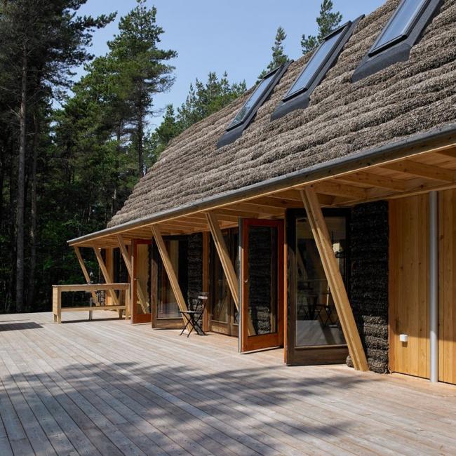 Дом из морских водорослей © Helene Høyer Mikkelsen / Realdania Byg