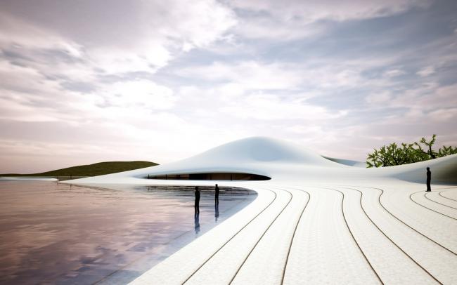 Музей искусств на острове Пинтань © MAD