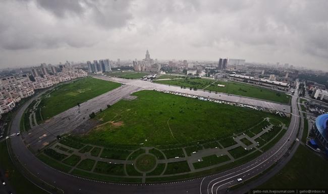Ходынское поле. Вид сверху. Фотография предоставлена организаторами конкурса