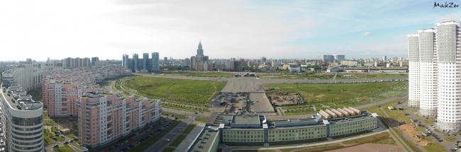 Панорама Ходынского поля. Фотография предоставлена организаторами конкурса