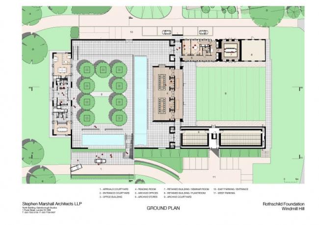 Комплекс Фонда Ротшильда © Stephen Marshall Architects