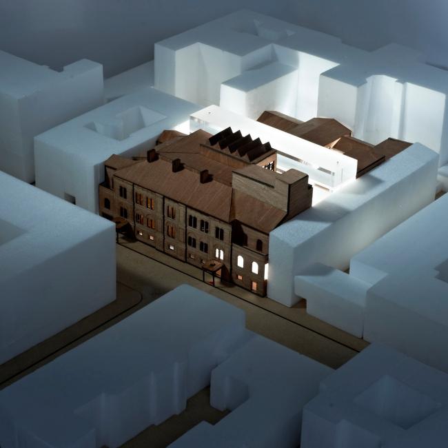 """Проект Рема Колхаса (бюро """"Office for Metropolitan Architecture"""")"""
