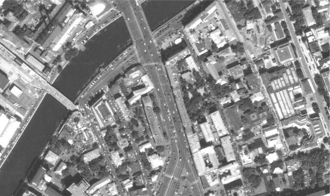 Москва 1930-х - 1950-х гг. Фотография из презентации Сергея Кузнецова
