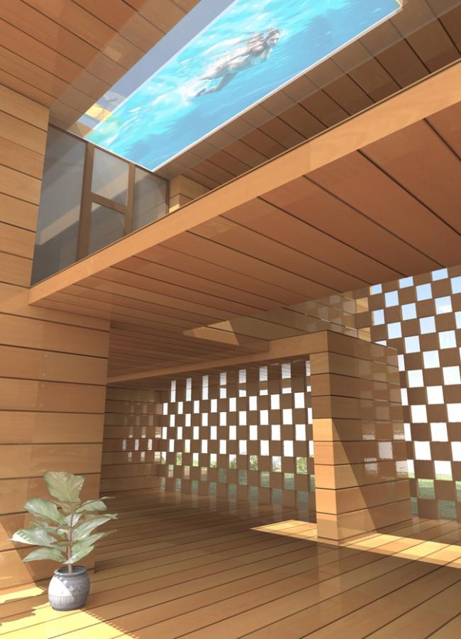Дом-соты © Архитектурная мастерская Тотана Кузембаева