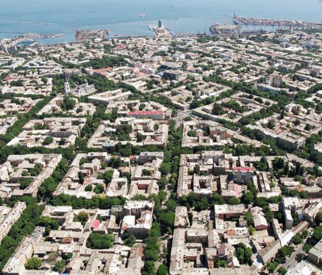 Квартальная застройка на примере Одессы. Из презентации Андрея Гнездилова