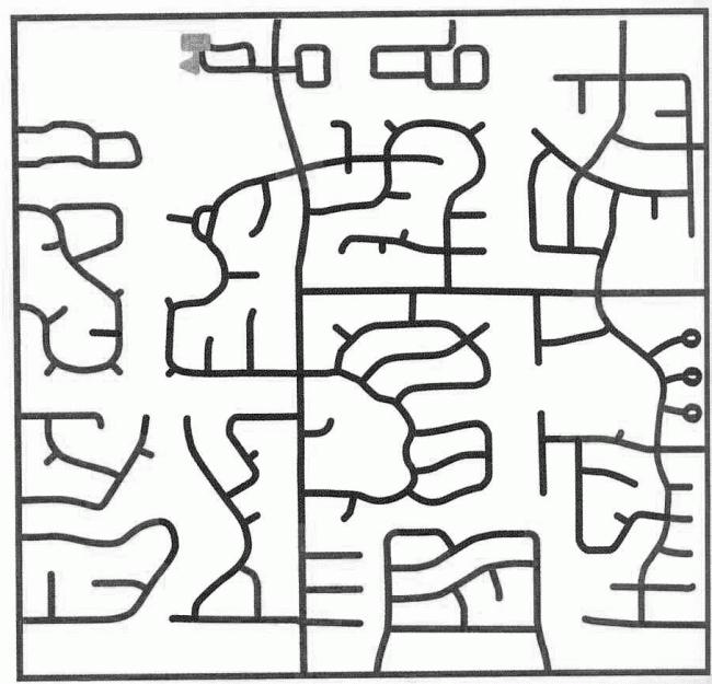 Уличная сеть при микрорайонной застройке. Из презентации Андрея Гнездилова