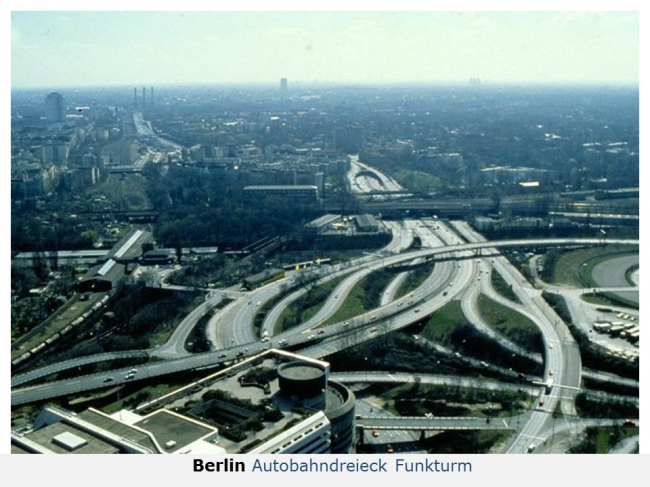 Автобан в Западном Берлине. Из презентации Ханса Штимманна