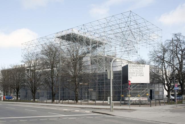 Павильон Schaustelle. Фото: Markus Lanz © Pinakothek der Moderne