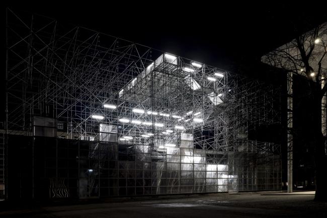 Павильон Schaustelle. Фото: © Dennis Bangert, 2013 / Die Neue Sammlung