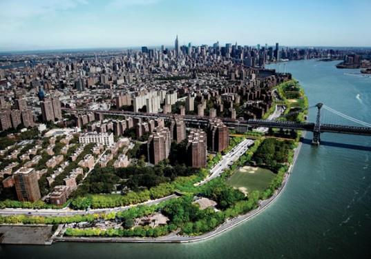 Зеленый пояс вокруг Нью-Йорка. Из презентации Надежды Нилиной