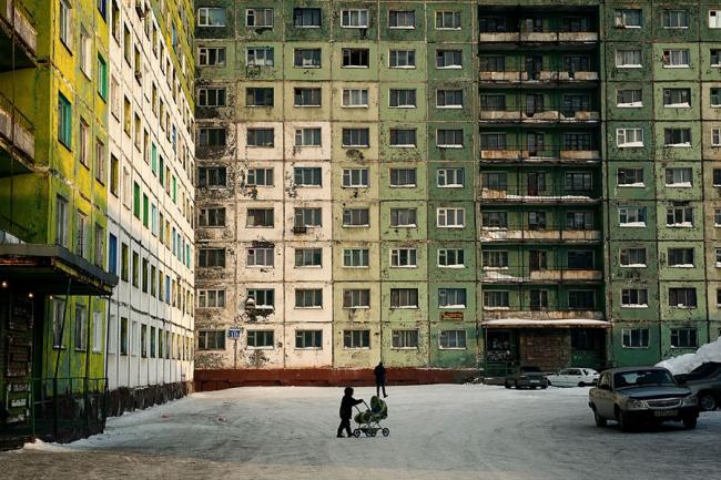 Норильск, фото Елены Чернышовой, фотопроект «Дни ночей – Ночи дней»