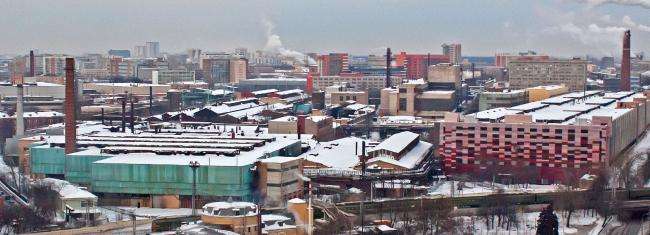 Территория завода «Серп и Молот». Источник: photo-moskva.ru