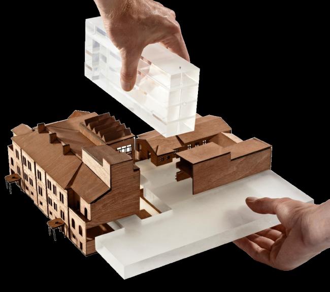 Проект Рема Колхаса. Иллюстрации предоставлены организаторами конкурса.
