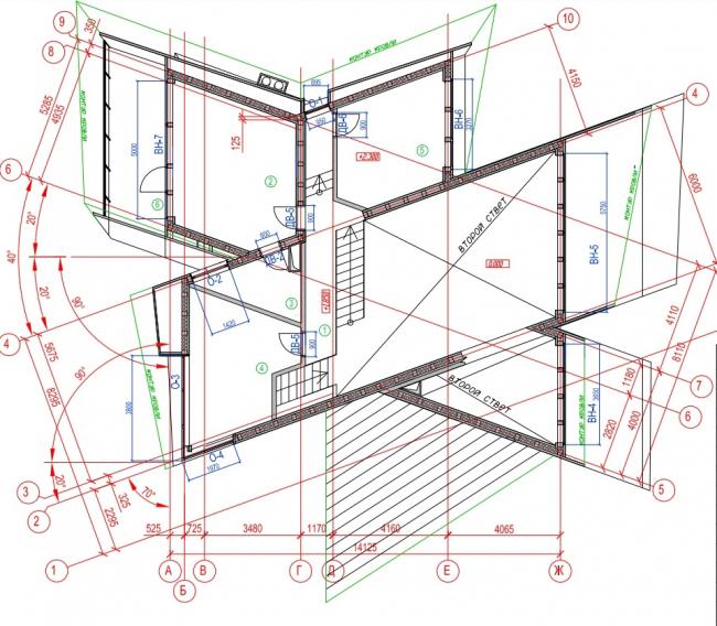 Дом «Кристалл» © Архитектурная мастерская Тотана Кузембаева