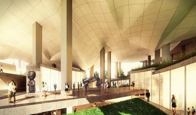 3-е место. Проект Питера Айзенмана. Изображение с сайта tccenter.com.tw