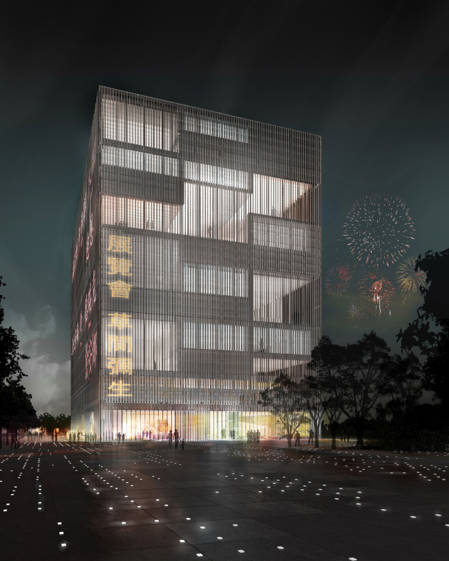 Поощрительная премия. Проект Stücheli Architekten. Изображение с сайта tccenter.com.tw