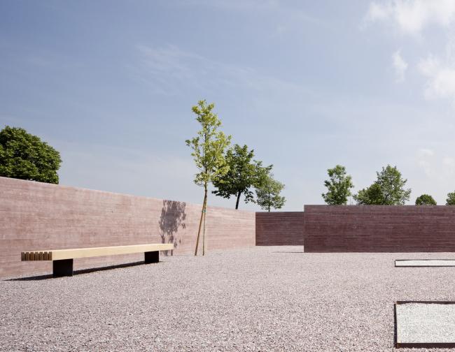Исламское кладбище в Альтахе (2011, архитектор Бернардо Бадер) © AKAA / Adolf Bereuter
