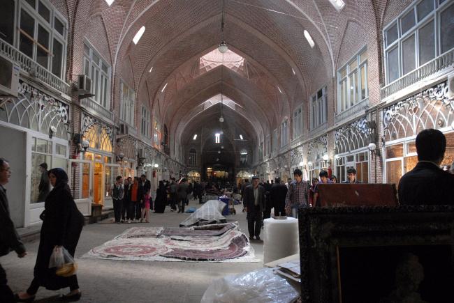 Реставрация Базара в Тебризе (с 1994) © AKAA / Amir Anoushfar