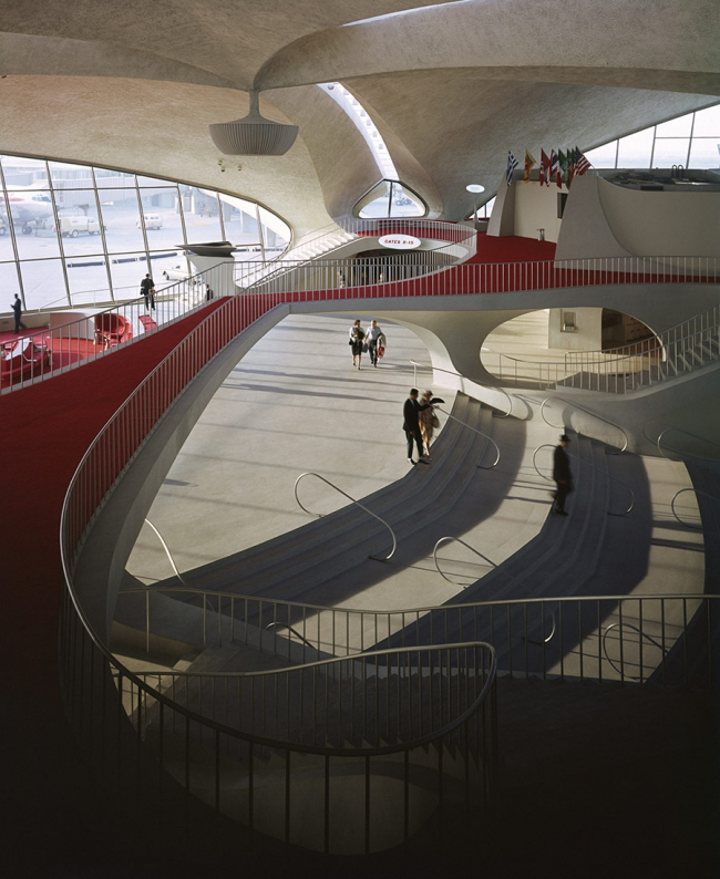 Терминал TWA в аэропорту Дж.Ф.Кеннеди. Фото: Gabriel Jorby/Flickr via blog.archpaper.com
