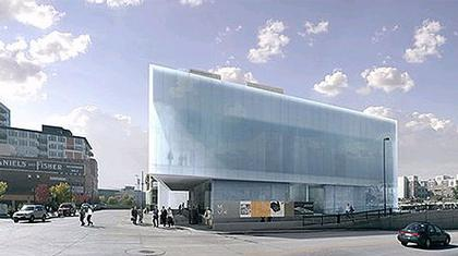 Дэвид Аджайе. Музей современного искусства в Денвере. Проект