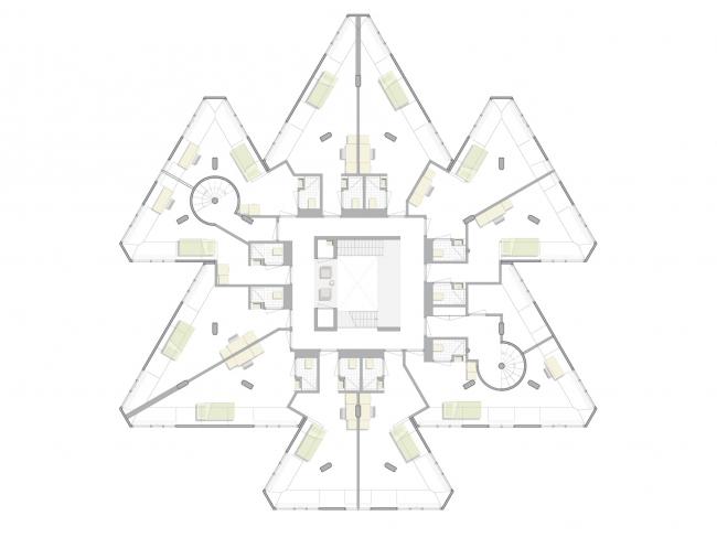 Personal Architecture. Реконструированный «суперкуб» © Personal Architecture