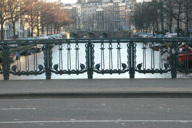 Мост 420 в Амстердаме. Архитектор Пит Крамер