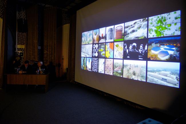Лекция Энрике Собехано. Фото: Лариса Пашкова
