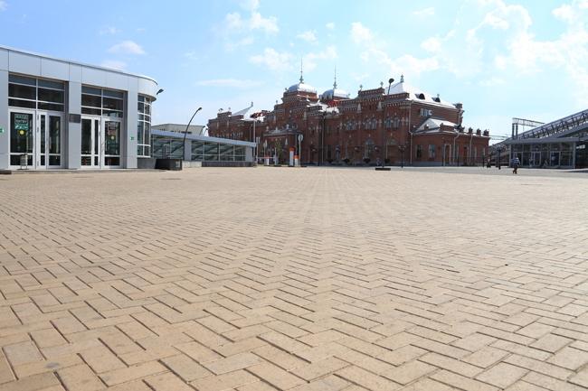 Обустройство привокзальной площади в Казани