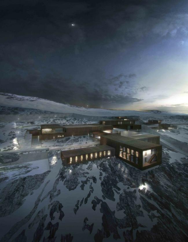 Исправительно-трудовое учреждение-колония «Ню Анстальт». © Schmidt Hammer Lassen Architects