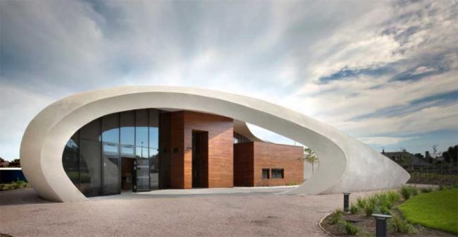 Онкологический центр Мэгги Абердинского Королевского госпиталя © Philip Vile