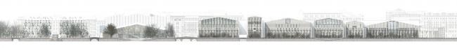 Архитектурная концепция «Регулярный город» ООО «Архитектурное бюро «Студия 44». Иллюстрация: www.prlib.ru
