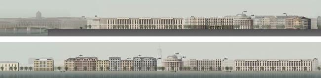 Архитектурная концепция ООО «Евгений Герасимов и партнеры». Вариант 2. Иллюстрация: www.prlib.ru