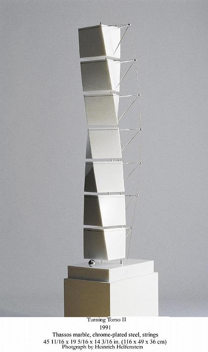 Мраморная скульптура – абстрактные мраморные скульптуры зодчего напоминают экзотические цветы, фрукты и китайские fortune cookies