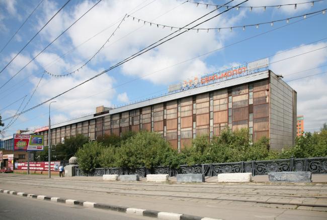Территория завода «Серп и молот» со стороны шоссе Энтузиастов. Прокатный стан. Изображение предоставлено НИиПИ Генплана
