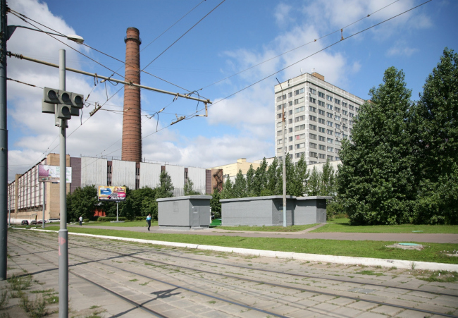 Территория завода «Серп и молот» со стороны шоссе Энтузиастов. Изображение предоставлено НИиПИ Генплана