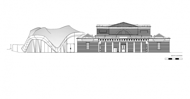 Галерея «Серпентайн Сэклер» © Zaha Hadid Architects