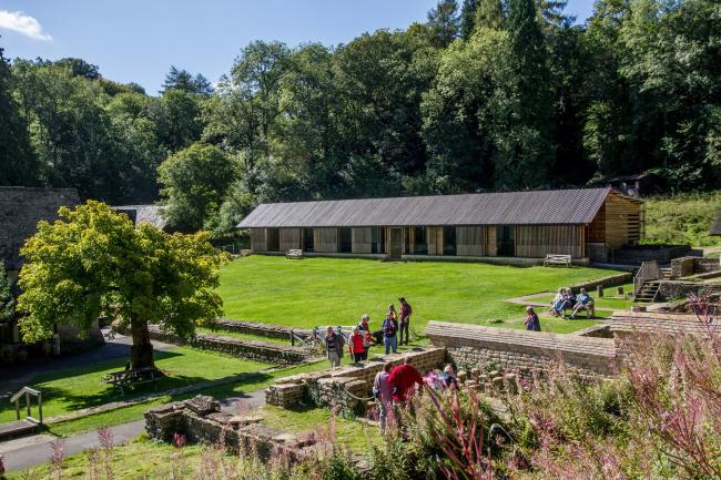 Объект National Trust: музеефикация римской виллы в Чедворте, Глостершир. Архитекторы Feilden Clegg Bradley Studios © John Dawson