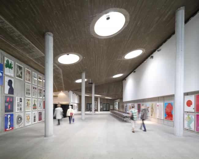 Центр культурного производства «Годсбанен» © Adam Mørk